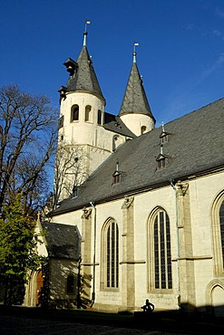 UNESCO Word Heritage Site St. Jakobi church Goslar Lower Saxony Germany