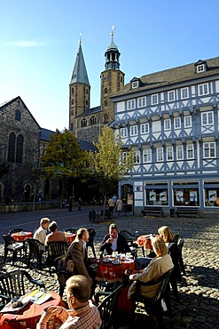 UNESCO Word Heritage Site Schuhhof Marktkirche Goslar Lower Saxony Germany