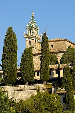 Abbey church, Valldemossa, Majorca, Spain