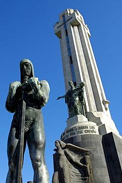 Monumento de los Caidos, Plaza Espana, Santa Cruz, Tenerife, Canary Islands, Spain