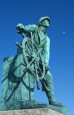 Gloucester Fisherman's Memorial, Massachusetts, USA