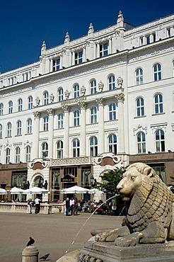 Cafe Gerbeaud-Haz, Budapest, Hungary, Southeast Europe, Europe,