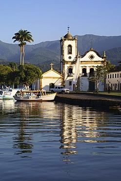 Santa Rita church, Paraty, Brazil