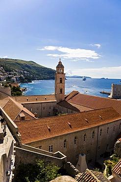 Dubrovnik historic centre and UNESCO World Heritage Site, Ragusa, Dubrovnik-Neretva, Dalmatia, Croatia, Europe