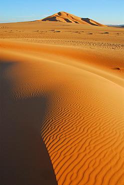 Sand dunes, Murzuq desert, Libya