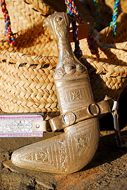 Typical dagger (Khanjar), Nizwa, Oman