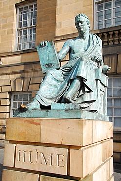 Monument for David Hume, Edinburgh, Scotland