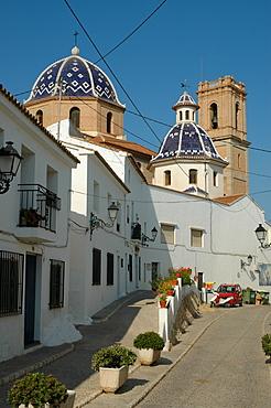 Nuestra Senora del Consuelo Church, Altea, Costa Blanca, Spain, Europe