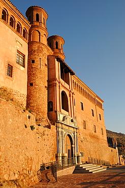 Palacio del Papa Luna (Benedict XIII Palace), Illueca, Zaragoza Province, Aragon, Spain, Europe