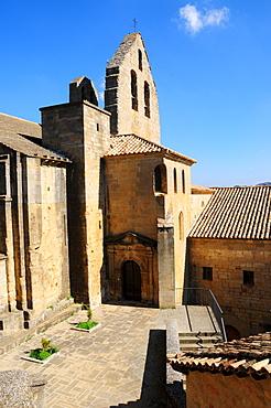 Chapel at Palacio de Sada, palace in Sos Del Rey Catolico, Zaragoza Province, Aragon, Spain, Europe