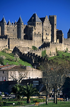 Cite of Carcassonne, Languedoc-Roussillon, France