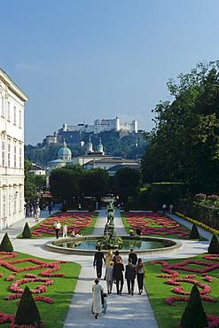 Mirabell Garten, Salzburg, Austria