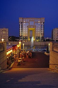 Administration Building Hotel de Region in Antigone Complex, France, Languedoc-Roussillon, Dept. Herault, Montpellier