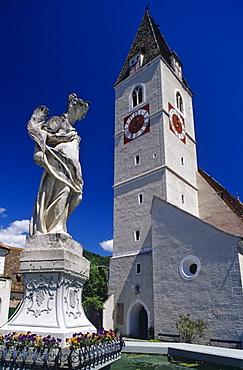 Church in Spitz/Donau, Wachau Region, Lower Austria, Austria