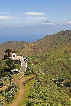 Chapel Ermita de San Juan, Hermigua village, La Gomera Island, Canary Islands, Spain, Europe