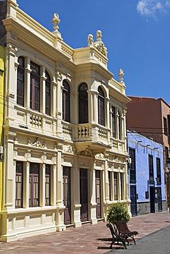 Architecture in the capital San Sebastian, La Gomera Island, Canary Islands, Spain, Europe
