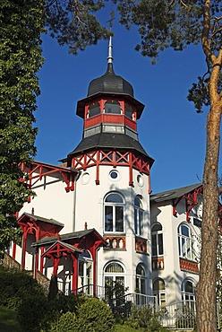 Architecture in Zinnowitz, Usedom island, Mecklenburg Western Pomerania, Germany, Europe