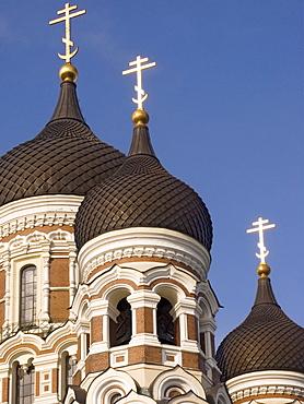 Alexander Newski Cathedral, Tallinn, Estonia, Europe