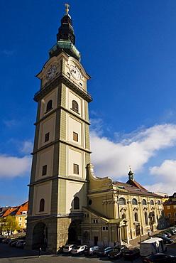 St. Egid town parish church, Klagenfurt, Carinthia, Austria