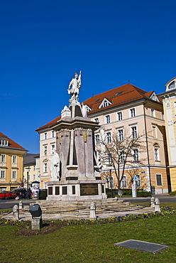 Floriani Monument, Klagenfurt, Carinthia, Austria