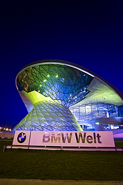BMW World, Munich, Bavaria, Germany, Europe, PublicGround