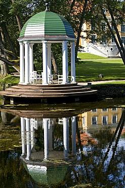 Pavillion Rotunda, Palmse Manor, Lahemaa, Estonia, Baltic States, Northeast Europe