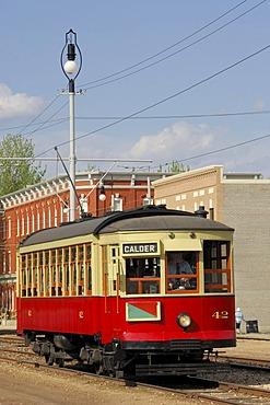 Streetcar, Fort Edmonton Park, Edmonton, Alberta, Canada