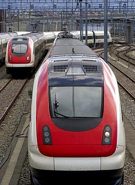 Intercity Tilting Train RABDe 500, SBB CFF FFS, Switzerland