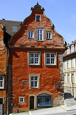 Widmanhaus, town archive, Schwaebisch Hall, Baden-Wuerttemberg, Germany