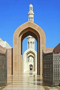Sultan Qaboos Mosque, Muscat, Sultanate of Oman, Middle East