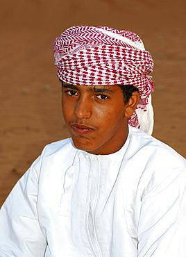 Omani boy, Sultanate of Oman, Middle East