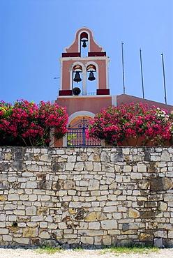 Belfry, Fiscardo, Kefalonia, Ionian Islands, Greece