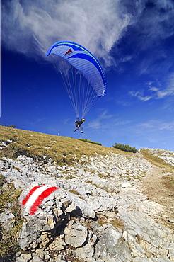 Paraglider, Stoderzinken, Styria, Austria