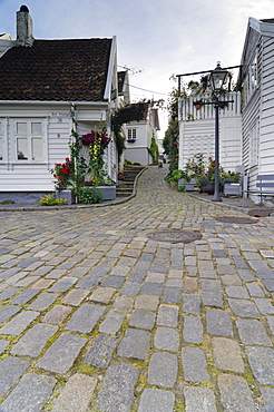 Historic centre of Stavanger, Rogaland, Norway, Scandinavia, Europe