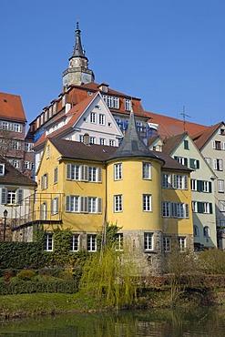 Hoelderlintower, Tuebingen, Baden-Wuerttemberg, Germany, Europe
