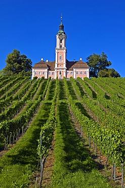 Monastery Birnau, Baden-Wuerttemberg, Germany