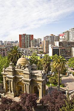 Cerro Santa Lucia Park, Santiago de Chile, Chile, South America