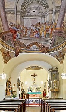 Church in Furth, Triestingtal, Lower Austria, Austria, Europe