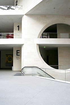 German Historic Museum, Berlin, extension by star architect Ieoh Ming Pei, Berlin, Germany
