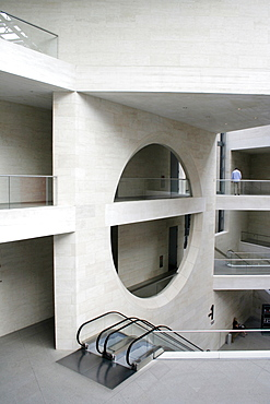German Historic Museum, extension by star architect Ieoh Ming Pei, Berlin, Germany