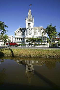 City hall, Georgetown, Guyana, South America
