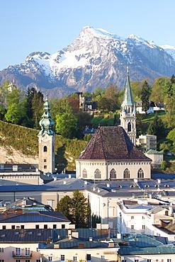 Franziskaner Kirche Church, Salzburg, Austria, Europe