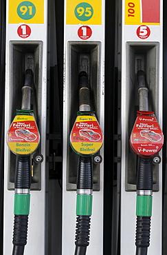 Fuel nozzles, gas pumps
