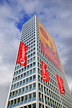 Vodafone Tower, Duesseldorf, North Rhine-Westphalia, Germany