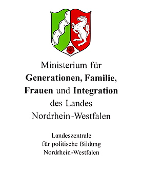 North Rhine-Westphalian Ministry for Intergenerational Affairs, Family, Women and Integration State Institute for Political Education sign
