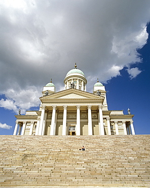 Helsinki Cathedral, Protestant church, Carl Ludwig Engel, Senate Square, Helsinki, Finland