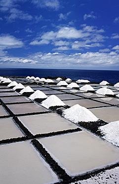 Saltworks in Los Canarios (Fuencaliente), La Palma, Canary Islands, Spain