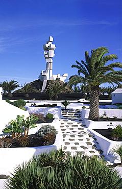 Monumento al campesino, the monument of the farmer, Mozaga, Lanzarote, Canary Islands, Spain