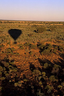 Outback ballooning, Northern Territory, Australia