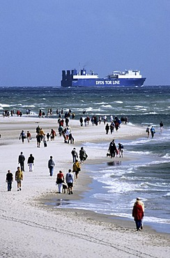 Headland, Genen near Skagen, Jutland, denmark